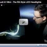 Novos detalhes do Audi A1