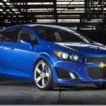 Surgem imagens do Chevrolet Aveo RS Concept na internet