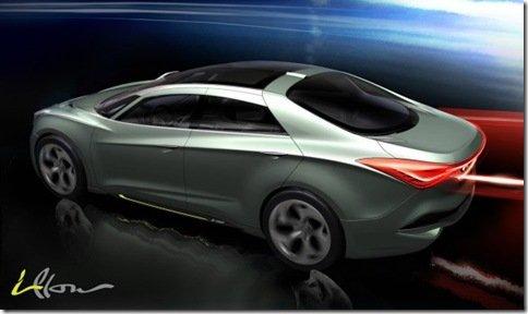 Hyundai revela teaser do conceito i-flow