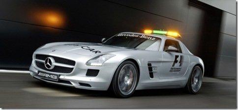SLS AMG é o novo pace car da temporada 2010 da F1