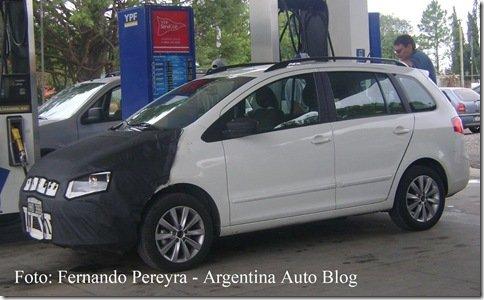 Nova Volkswagen Spacefox é flagrada na Argentina