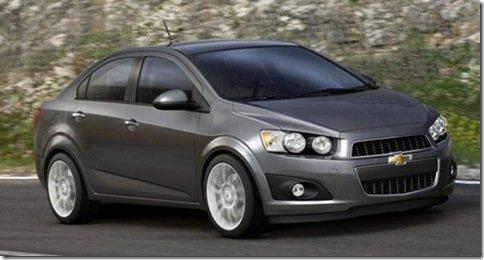Primeira imagem do Chevrolet Aveo Sedan
