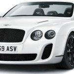 Pré-Salão de Genebra – Bentley Continental Supersports Conversível