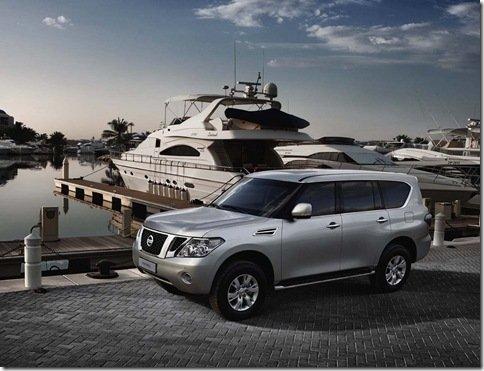 Nissan apresenta nova geração do Patrol