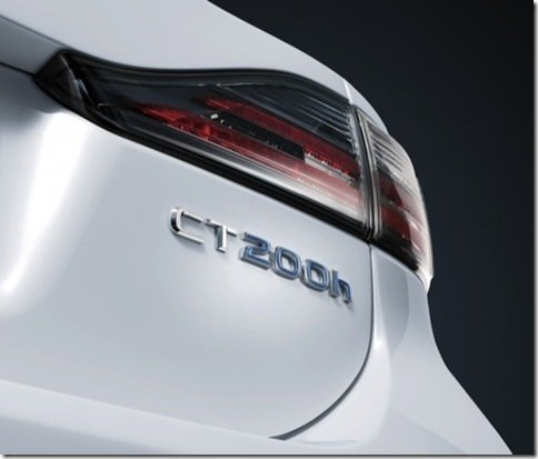 Lexus revela o primeiro teaser do CT200h