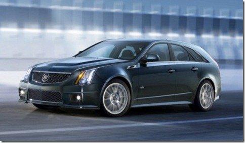 Cadillac revela o CTS-V Sport Wagon