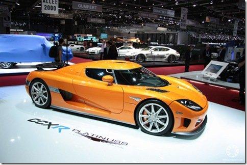 Platinuss trará Koenigsegg CCXR pro Brasil