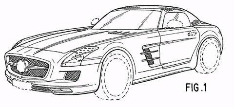Primeiras imagens da SLS AMG roadster caem na Internet