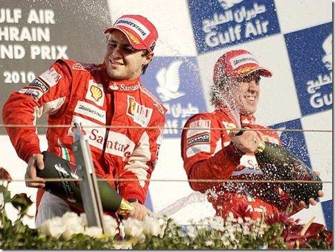 Ferrari inicia temporada com dobradinha – Alonso em 1°