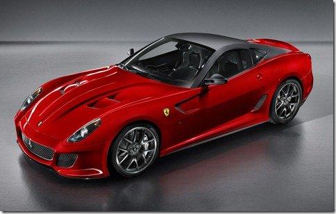 Ferrari apresenta a 599 GTO