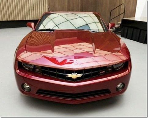 Chevrolet divulga, através do Facebook, as primeiras fotos oficiais do Camaro conversível