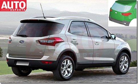 Ford confirma produção da nova geração do EcoSport em Camaçari