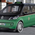 Volkswagen apresenta conceito elétrico para ser usado como táxi