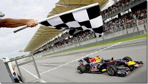 Vettel vence o GP da Malásia, Mas Massa é o líder do campeonato