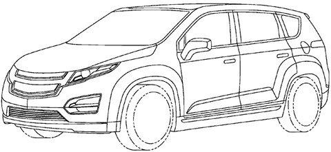 Vaza projeto da Chevrolet Voltec, a minivan do Volt