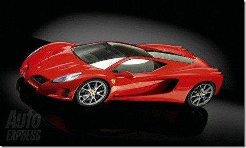Ferrari revela alguns detalhes da nova F70, substituta da Enzo