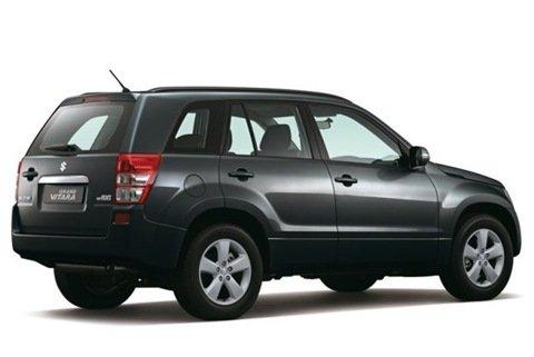Suzuki Grand Vitara recebe modificações estéticas na linha 2010