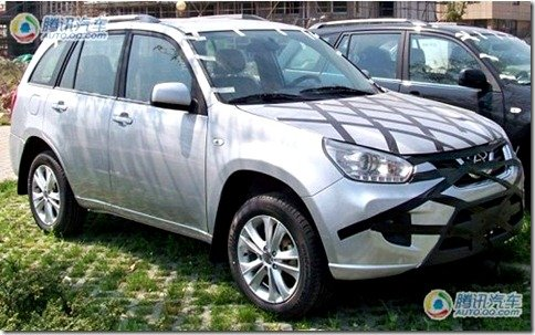 Novo Chery Tiggo é flagrado na China