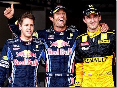 GP de Mônaco – Webber largará na frente de novo