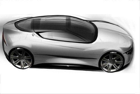 Primeiros esboços dos novos modelos da Lancia