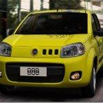 Novo Fiat Uno e a maior coletiva do mundo