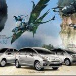 Linha Citroën Picasso ganham série Avatar