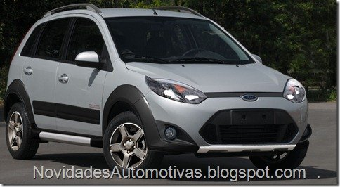 Poderia ser assim o novo Ford Fiesta Trail?