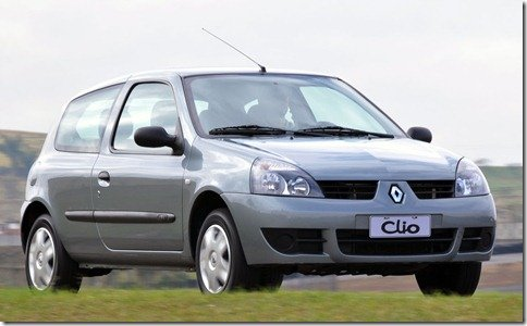 Renault Clio passa a ter 3 anos de garantia