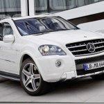 Mercedes ML63 AMG recebe facelift