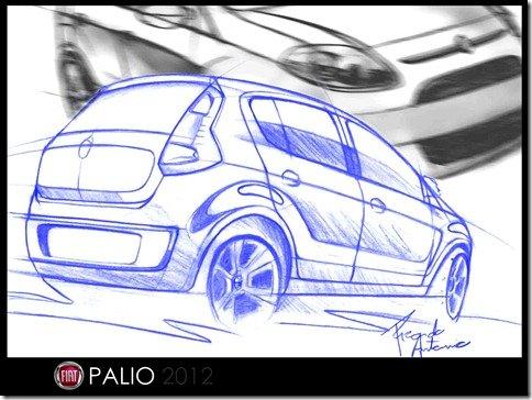 Leitor propõe como deve ficar o Fiat Palio 2012