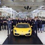 Lamborghini Gallardo chega ás 10.000 unidades