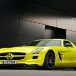 Mercedes-Benz anuncia protótipo de SLS AMG elétrico