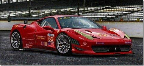 Ferrari mostra a 458 GT