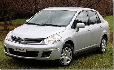 Nissan Tiida Sedan chega por R$ 44.500