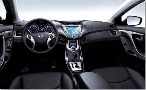Hyundai revela o interior do novo Elantra
