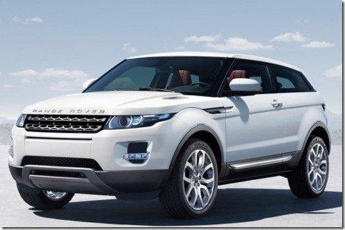 Land Rover Range Rover Evoque; a versão de produção do LRX