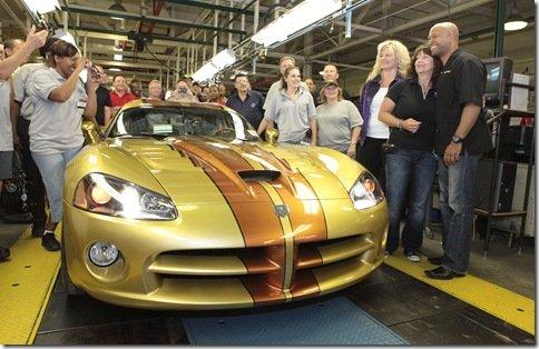 Dodge Viper, a mais nova 'vítima' da Chrysler, sai de linha
