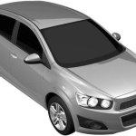 Chevrolet Aveo 2011 vaza em registro de patentes