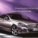 Vazam as primeiras imagens do novo Mercedes CLS