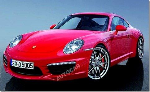 Novo Porsche 911 tem primeiras imagens reveladas