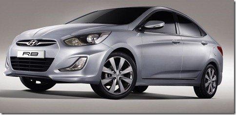 Salão de Moscou–Hyundai RB Concept
