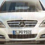 Primeira imagem da nova geração do Mercedes Classe B