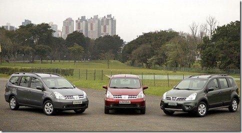 Nissan Livina 2011 chega às concessionárias