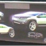 Imagem de futuro modelo desenvolvido pelo Grupo Chrysler e Fiat aparece em vídeo da Jeep