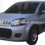 Exclusivo – Primeiras imagens do Fiat Novo Uno Sporting 1.4