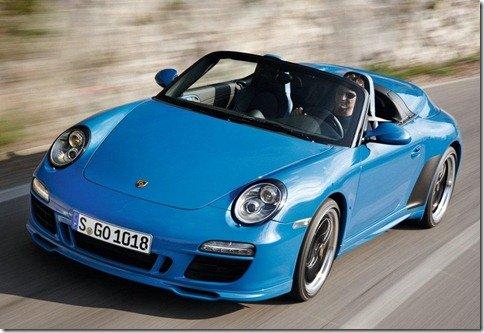 Porsche revela o 911 Speedster