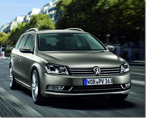 Volkswagen Passat 2011 é revelado