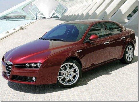 Nova geração do Alfa Romeo 159 marcará o retorno da marca ao Brasil