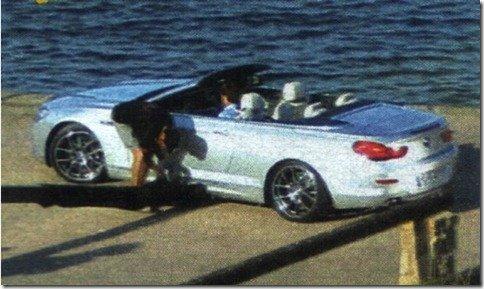 Novo BMW Serie 6 Cabrio aparece sem camuflagem