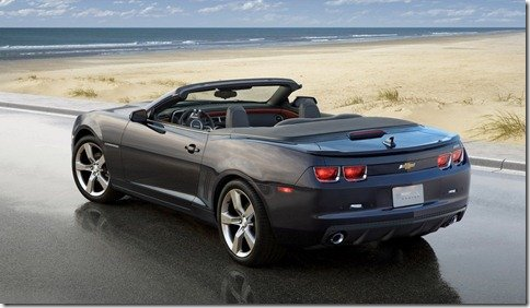 Chevrolet divulga nova foto do Camaro Convertible